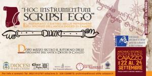 6x3 e banner web evento hoc instrument caiazzo  settembre